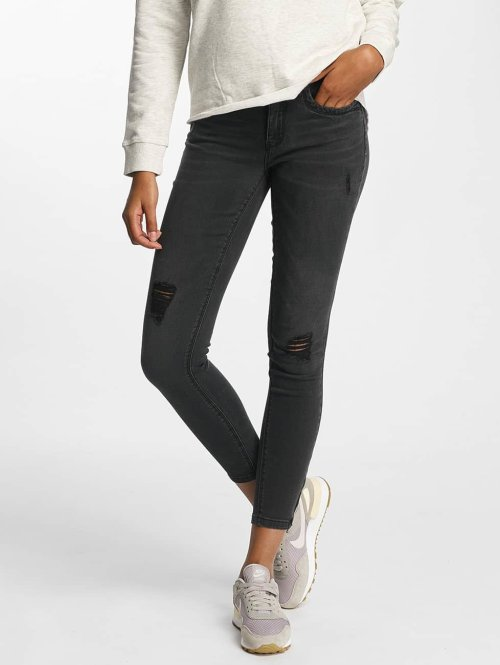Only Skinny Jeans onlKendell Regular Ankle schwarz