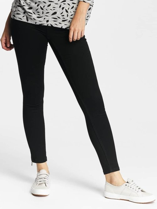 Only Skinny jeans onlUltimate Zip Soft zwart