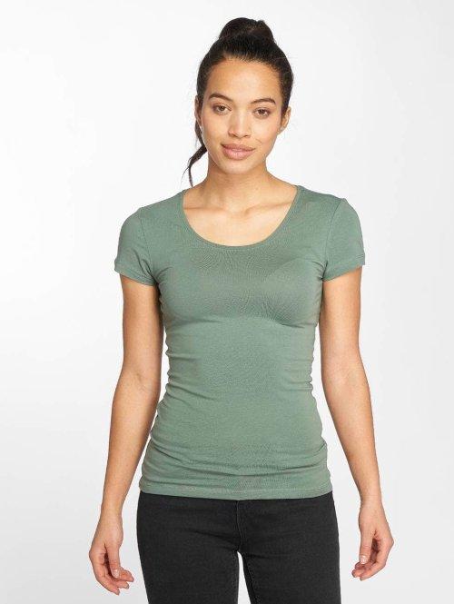 Only t-shirt onlLive Love groen