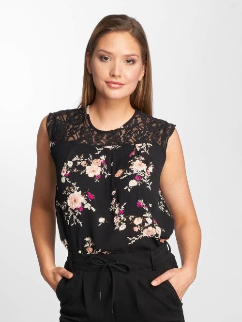 Only Top onlKarmen schwarz