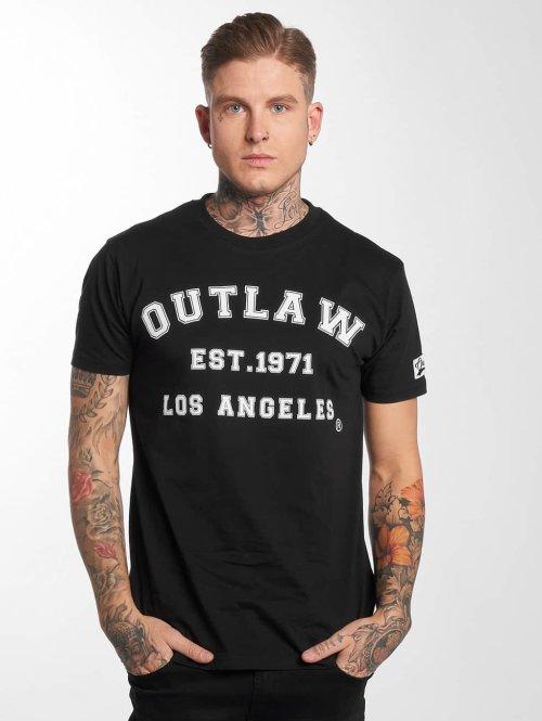 Outlaw T-Shirt Outlaw Baseball schwarz