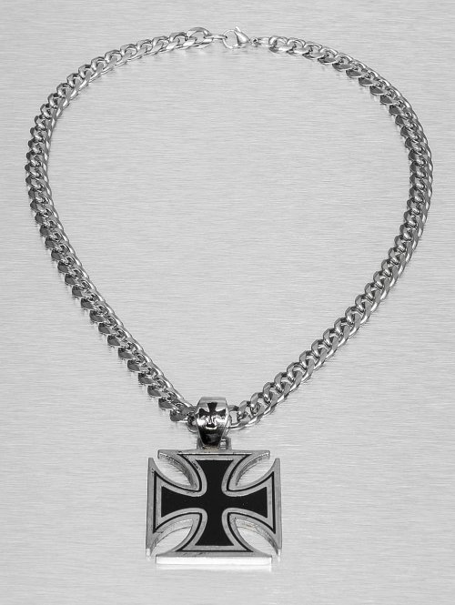 Paris Jewelry Kette Cross silberfarben