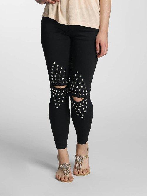 Paris Premium Skinny jeans Denim zwart