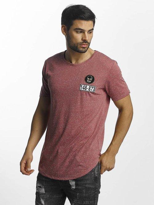 Paris Premium T-Shirt Skull rouge