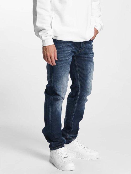 Pelle Pelle Slim Fit Jeans Floyd Denim blauw
