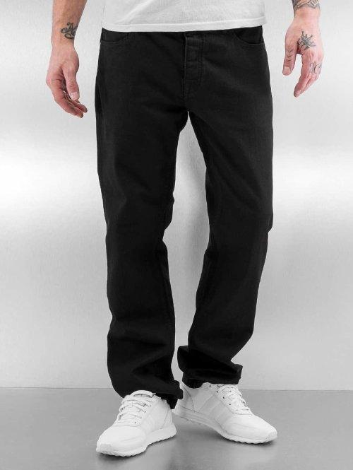 Pelle Pelle Straight fit jeans Floyd Denim zwart