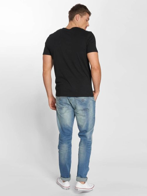 Petrol Industries Straight Fit Jeans Mechanic Tapered blau