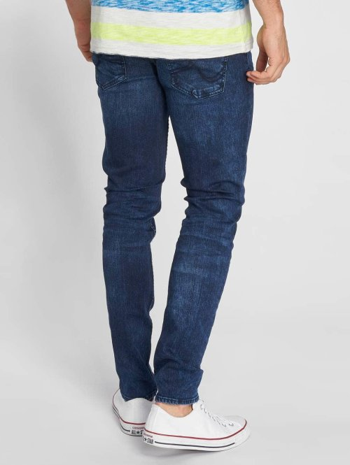 Petrol Industries Straight Fit Jeans Narrow Straight Fit blau