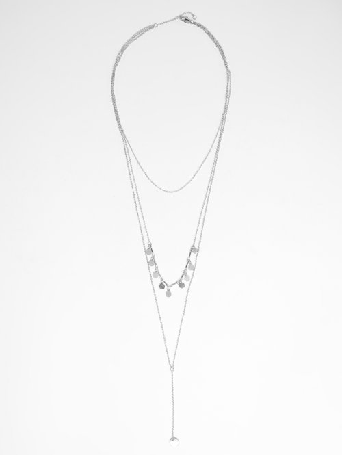 Pieces Collier pcDesiree argent
