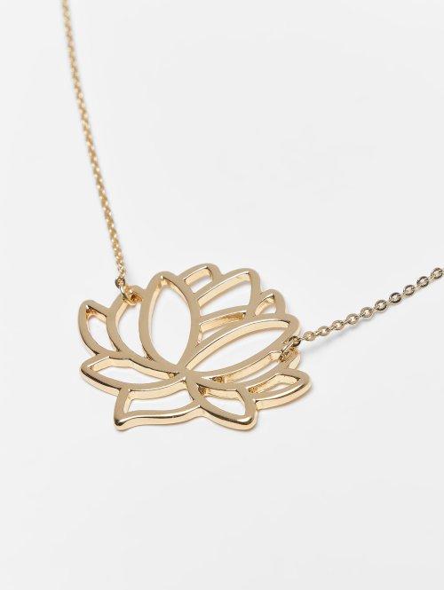 Pieces Kette pcFia Lotus goldfarben
