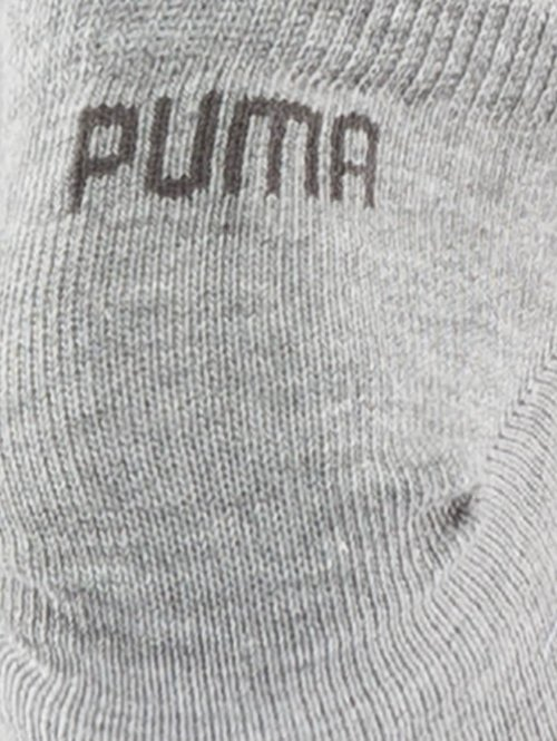 Puma Socken 3 Pack Sneaker Plain grau
