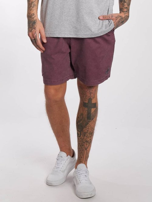 Quiksilver Shorts Tioga rot