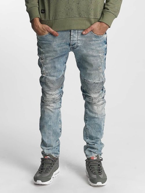 Red Bridge Straight Fit Jeans Anton blau