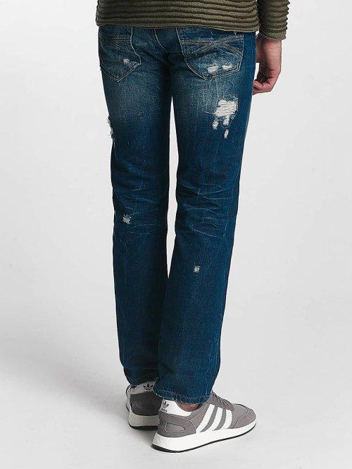 Red Bridge Straight Fit Jeans Hurricane blau