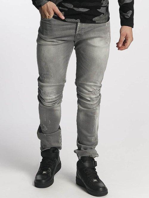 Red Bridge Straight Fit Jeans Straight Fit grau