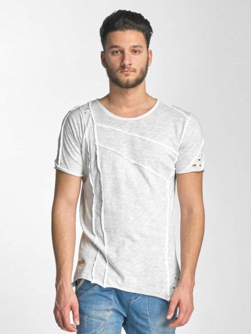 Red Bridge t-shirt Patchwork grijs