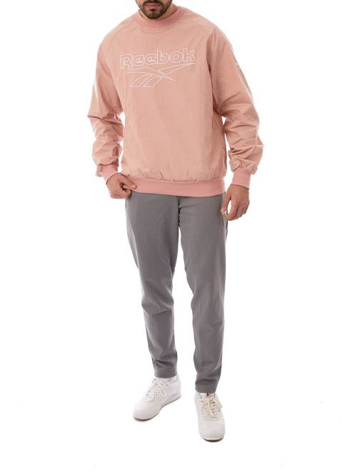 Reebok Pullover Lf Woven pink