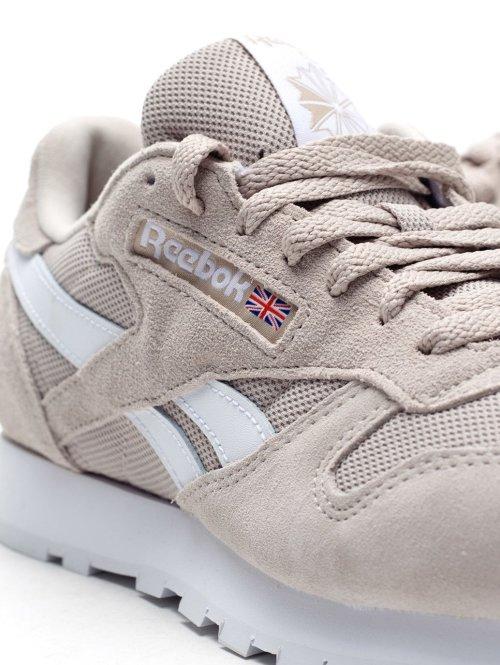 Reebok Sneaker Cl Leather Mu weiß