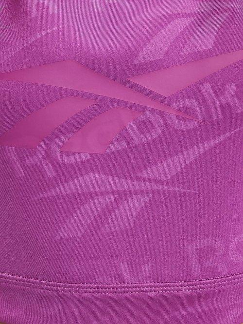 Reebok Top DC Fitness Crop blau