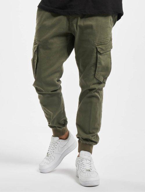 Reell Jeans Cargo Reflex Rib oliva