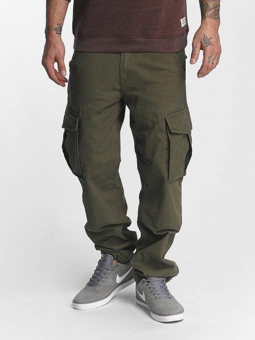 Reell Jeans Pantalone Cargo Flex oliva