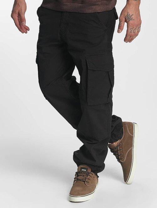 Reell Jeans Spodnie Chino/Cargo Flex czarny