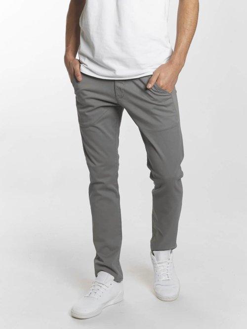 Reell Jeans Tygbyxor Flex Tapered grå