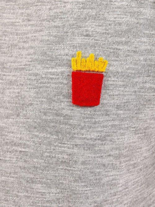 Revolution T-Shirt 1894 grau