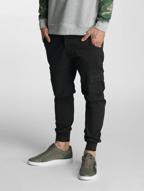 Rocawear Cargobroek Jogger Fit zwart