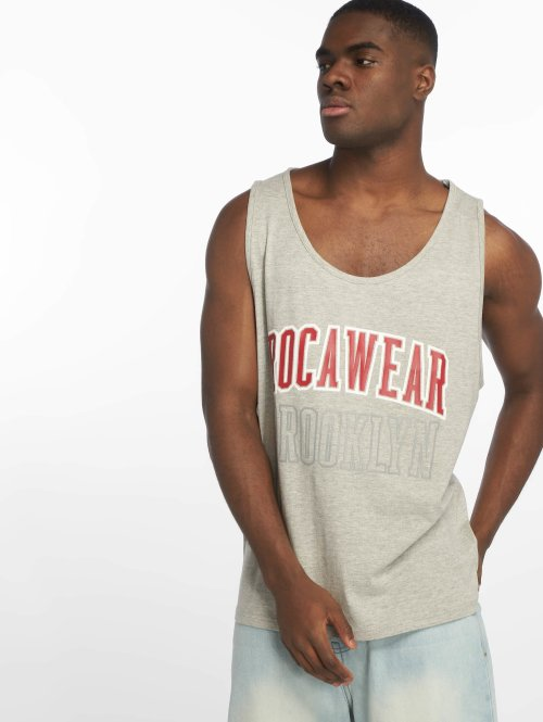 Rocawear Débardeur  Brooklyn Tank Top Grey M...