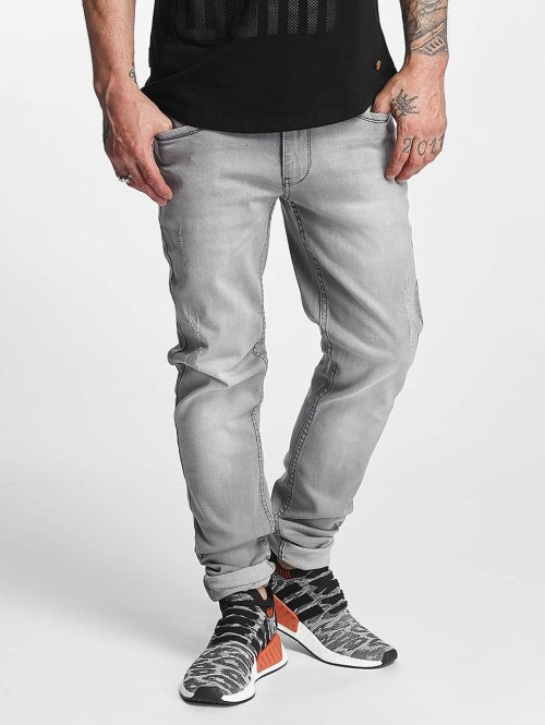 Rocawear Jean coupe droite Pune gris