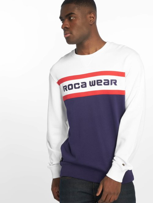 Rocawear Jumper  Stripes Crewneck Navy...