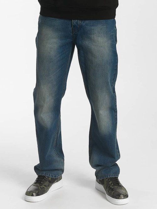 Rocawear Loose fit jeans Crime blauw
