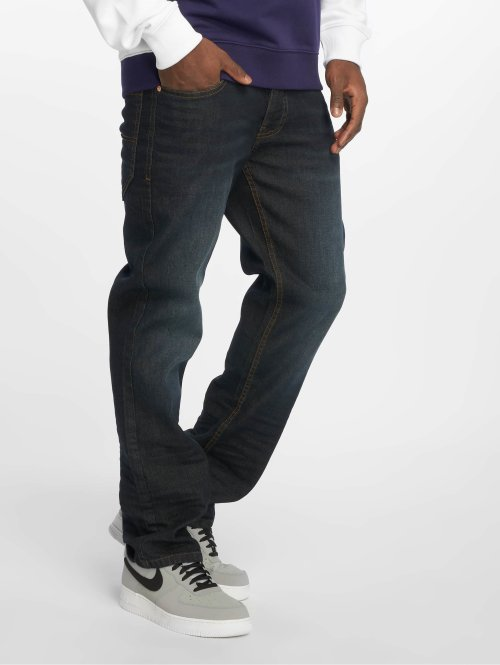Rocawear Straight Fit Jeans TUE Relax Fit blå