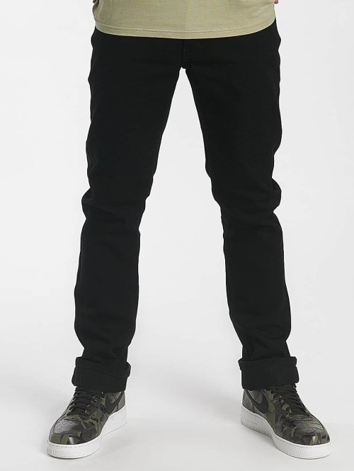 Rocawear Straight Fit Jeans  Relax Fit Jeans Black OD...