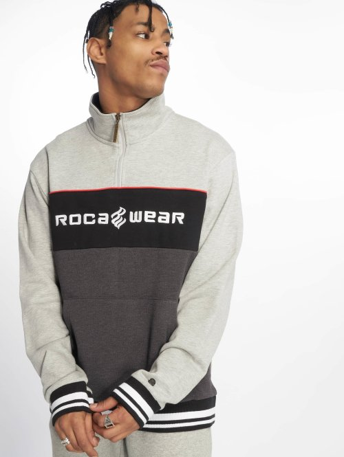 Rocawear Sweat & Pull  CB HZ Crewneck Grey Mela...