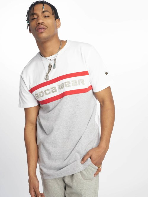 Rocawear T-Shirt  redstripe T-Shirt Grey M...