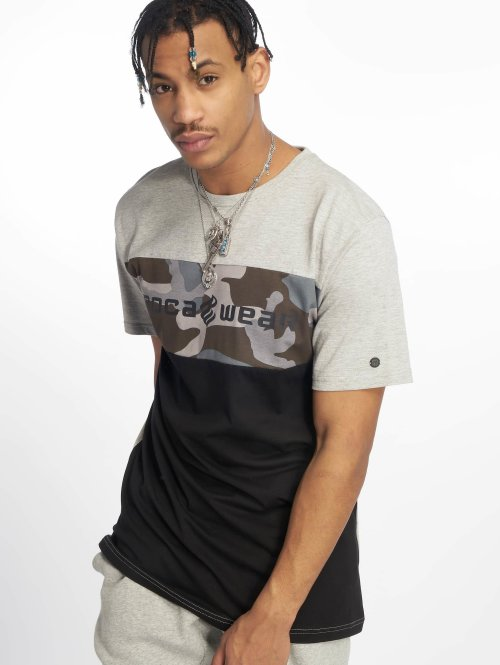 Rocawear T-Shirt  Camo Block T-Shirt Black...