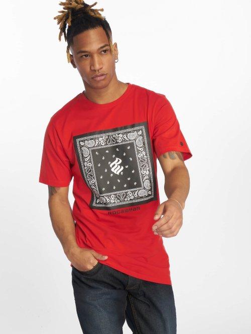 Rocawear T-Shirt  Bandana T-Shirt Red...