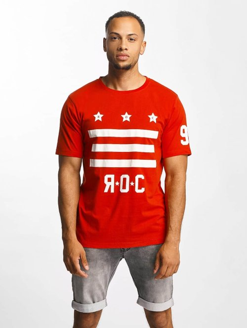 Rocawear t-shirt Brooklyn rood