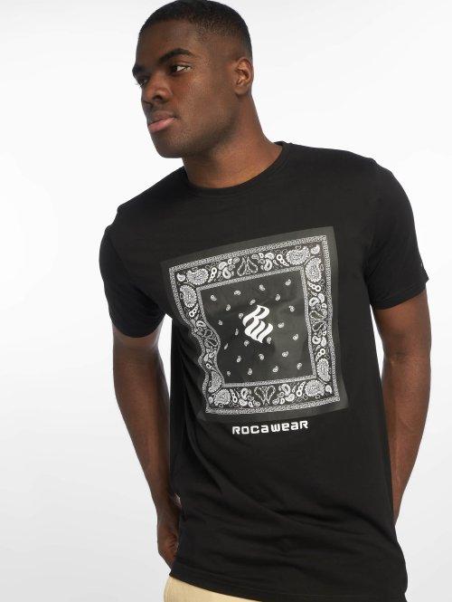 Rocawear t-shirt Bandana zwart