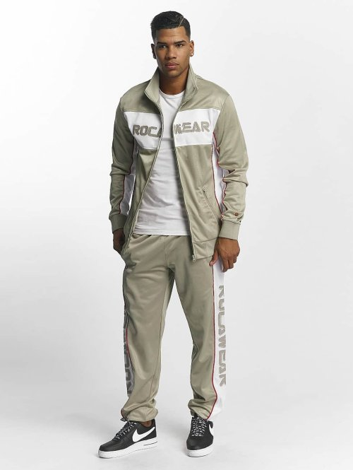 Rocawear Trainingspak Sports khaki