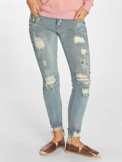 Rock Angel Skinny Jeans Eileen blau