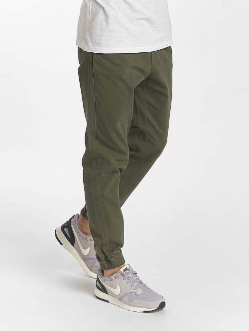 SHINE Original Chino Drop Crotch olive