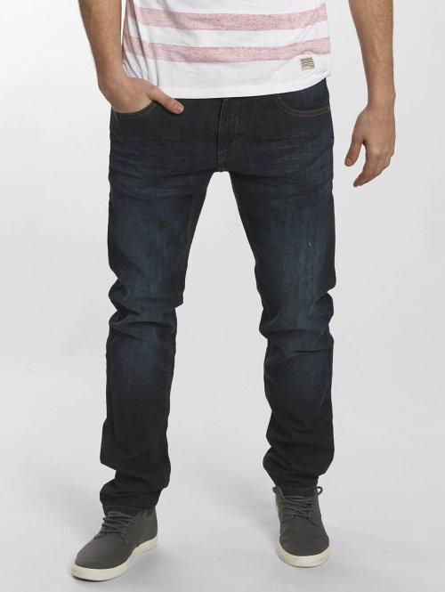 SHINE Original Straight Fit Jeans Tapered blau