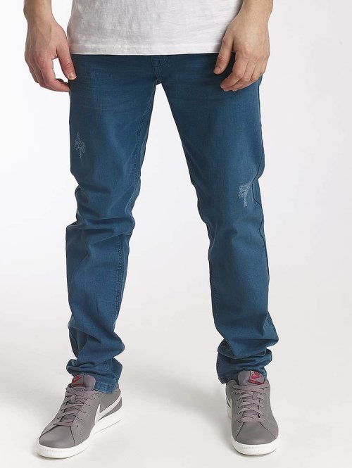 SHINE Original Straight Fit Jeans Wyatt blau