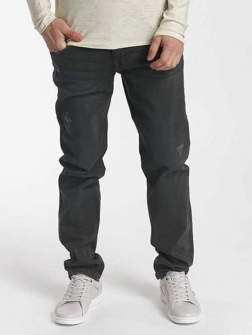 SHINE Original Straight fit jeans Wyatt zwart