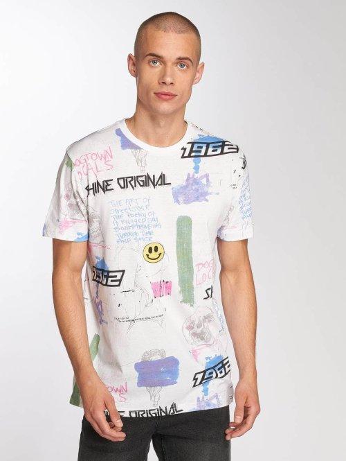 SHINE Original T-Shirt Genaro weiß