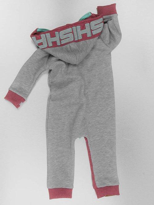 Shisha  Jumpsuit Jumpen Mini grau
