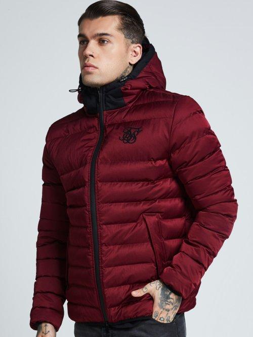 Sik Silk Manteau hiver Target rouge